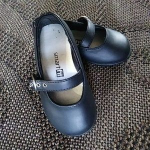 Smart Fit Toddler 5 girls Black Mary Janes